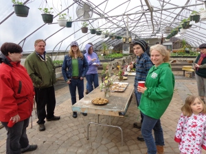 Dawn entertains participants at this years CSA Farm Tour