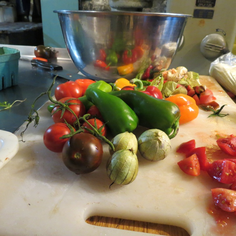 Heirloom Tomato Salsa